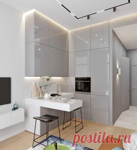 Маленькая кухня - не приговор. Как сделать помещение просторнее?