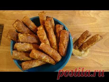 Картофельные гренки