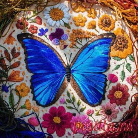 5 моих любимых работ мастера по вышиванию насекомых и зверюшек | MIAZAR | Яндекс Дзен