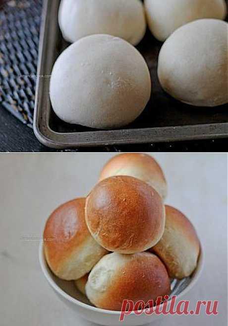 Румяные булочки | Готовим вместе