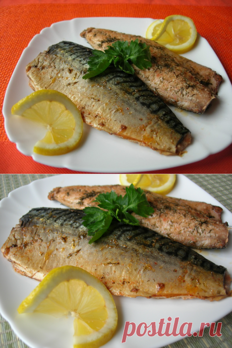 Скумбрия в духовке (по мотивам рецепта Гордона Рамзи) — Кулинарная книга - рецепты с фото