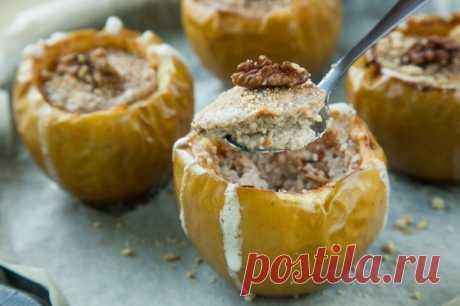 Чизкейк в яблоках — Sloosh – кулинарные рецепты