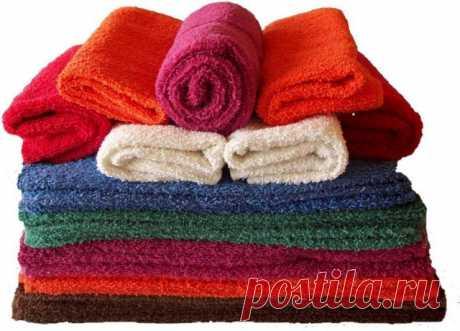 Как вернуть мягкость махровым полотенцам — Полезные советы