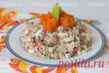 Салат Виктория – рецепт приготовления с фото от Kulina.Ru