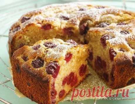 Постный вишневый пирог в мультиварке - Пошаговый рецепт с фото своими руками Постный вишневый пирог в мультиварке - Простой пошаговый рецепт приготовления в домашних условиях с фото. Постный вишневый пирог в мультиварке - Состав, калорийность и ингредиенти вкусного рецепта.