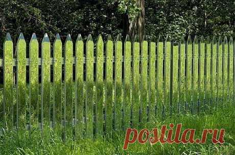 Это забор-невидимка!