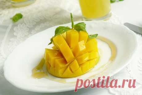 Манго с апельсиновой карамелью!