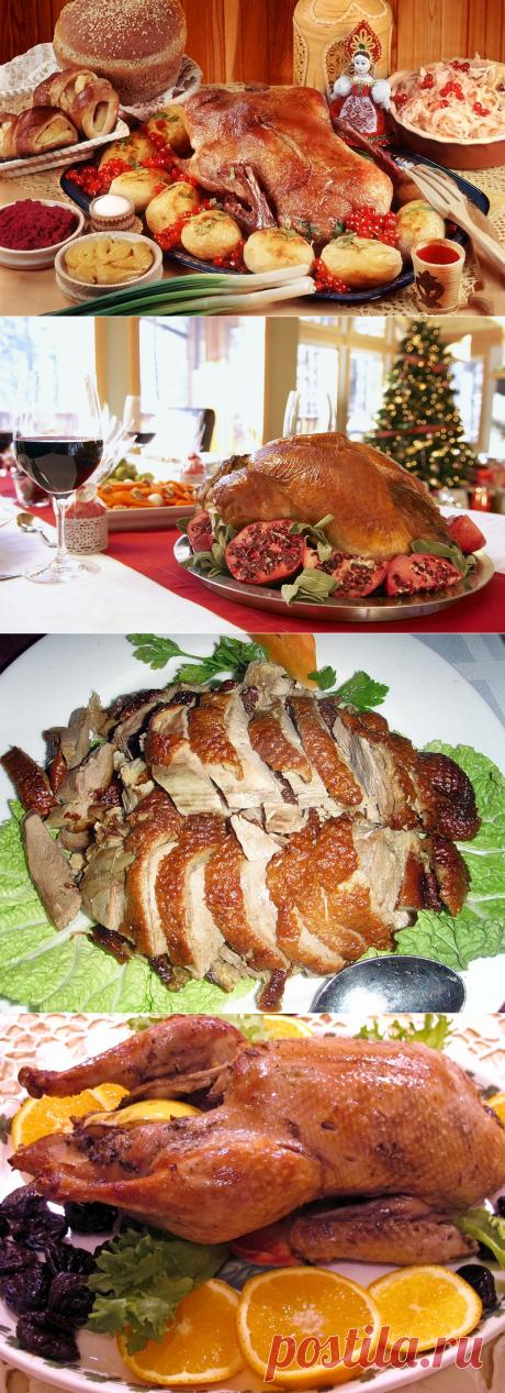 Рождественская утка и гусь! Рецепты