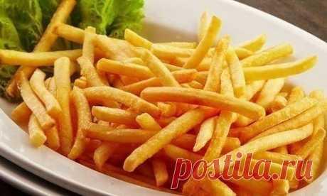 Как приготовить вкусный картофель фри в духовке | Школа шеф-повара