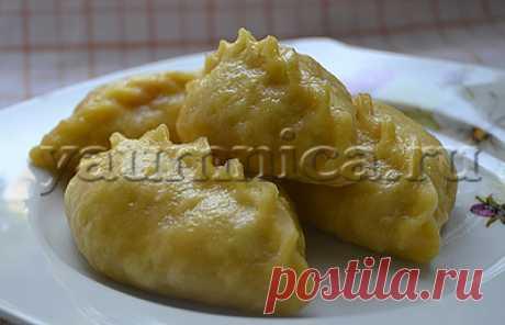 Вкусные вареники на пару с клубникой – простой пошаговый фото рецепт