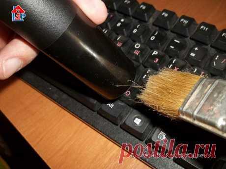 Почистил клавиатуру старым способом. Зачем мудрить | Домашний Ремонт | Яндекс Дзен