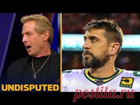 UNDISPUTED - Aaron Rodgers is nothing but a disaster!!! Skip Bayless lashes out