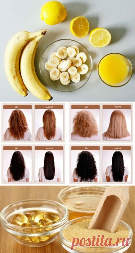 Маска для волос с желатином - ламинирование в домашних условиях