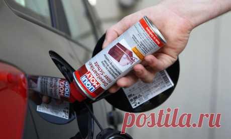 Как очистить бензобак автомобиля от разных загрязнений