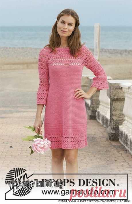 Платье крючком Primrose Dress .
