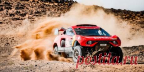 Ferrari для пустыни: багги «Prodrive Hunter» получит дорожную версию