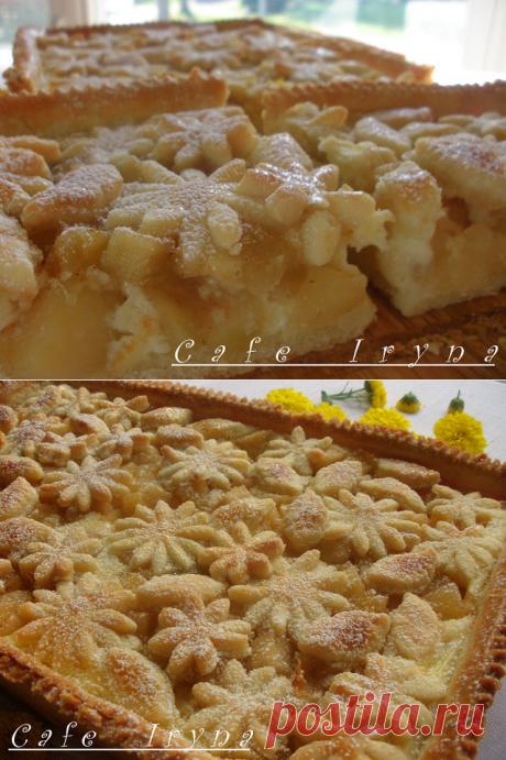 Очень вкусный яблочный пирог