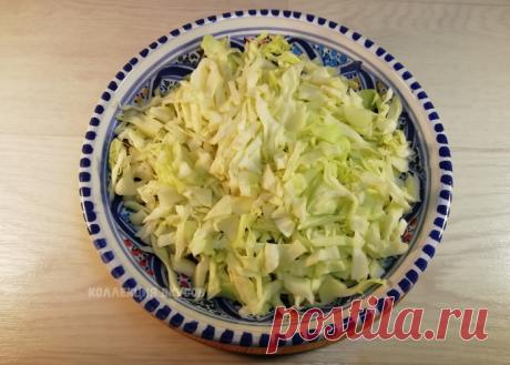 Беру 300 грамм капусты и немного картошки и готовлю сытный и вкусный ужин для всей семьи   Коллекция Вкусов   Яндекс Дзен