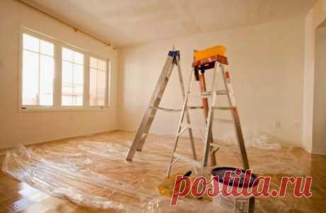 Как подготовить стены, пол и потолок перед косметическим ремонтом