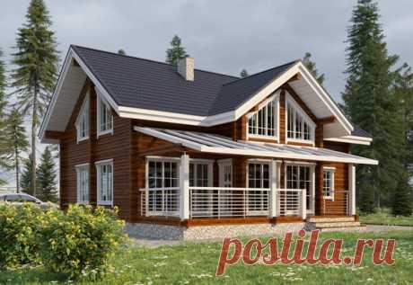 Финский дом с хорошей геометрией и 5 спальнями для большой семьи | flqu.ru - квартирный вопрос. Блог о дизайне, ремонте