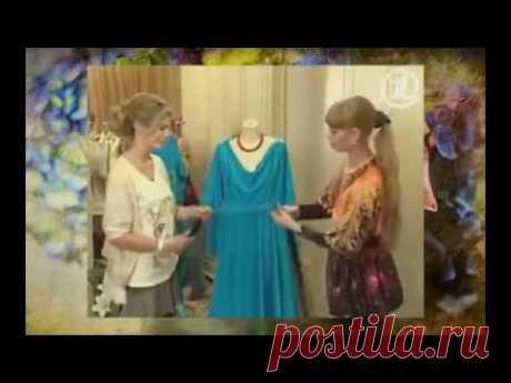 Как сшить нарядное платье просто и быстро