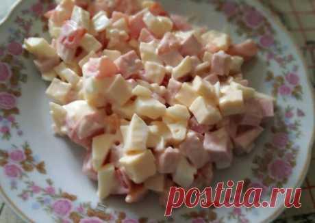 Салатик арлекино - пошаговый рецепт с фото. Автор рецепта Дарья Черепанова . - Cookpad