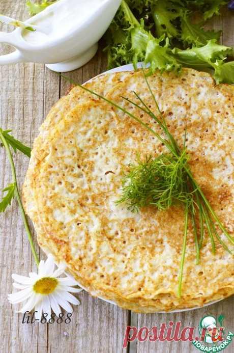 Блины из сырого картофеля – кулинарный рецепт