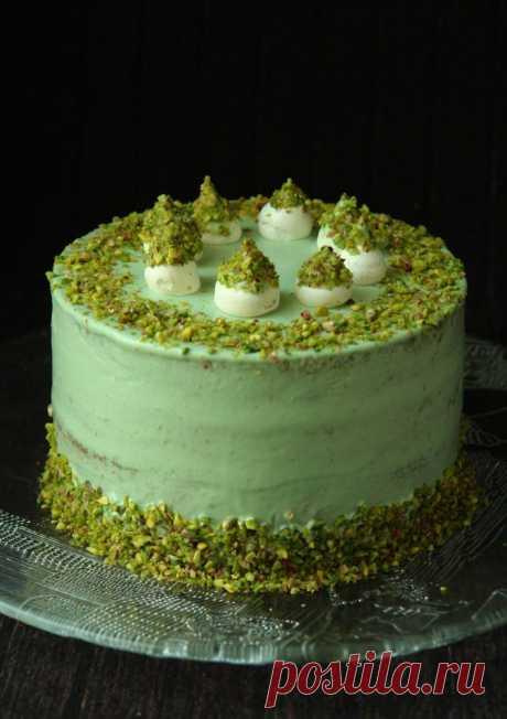 Фисташковый торт с жасминовым чаем - Блог настоящей тёщи — LiveJournal