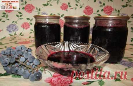 Конфитюр (варенье) из синего винограда — Кулинарная книга