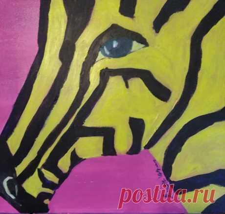 Yellow Zebra | Etsy