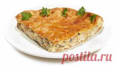 Заливной пирог - рецепт с фото / Простые рецепты