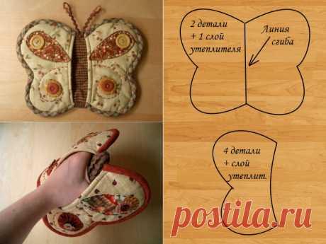 Прихватки своими руками из ткани с выкройками: пошагово для начинающих, оригинальные прихватки для кухни из лоскутков