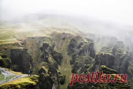 Туманные долины и мрачные каньоны Исландии   ПИЛИГРИМ   Яндекс Дзен