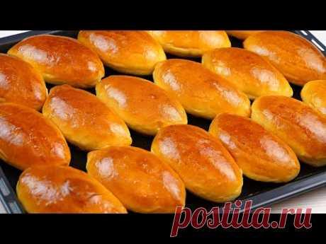 Сладкие пирожки в духовке! Печеные пирожки с яблочным повидлом! Рецепт теста для пирожков!