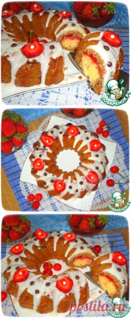 """Кекс """"Ягодная карусель"""" - кулинарный рецепт"""
