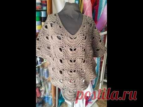 Crochet Poncho Virus part 2
