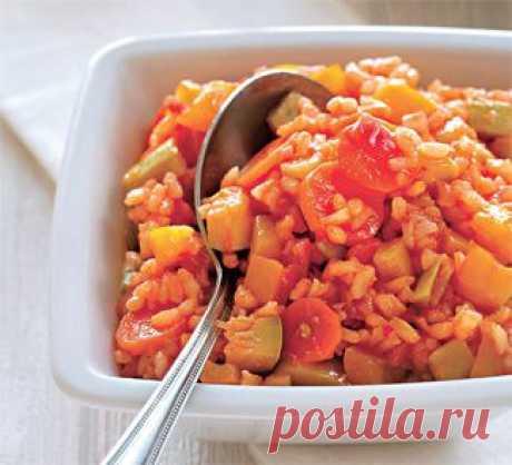 Овощи с рисом, заготовка. Пошаговый рецепт с фото на Gastronom.ru