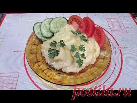Нежное картофельное пюре с молоком