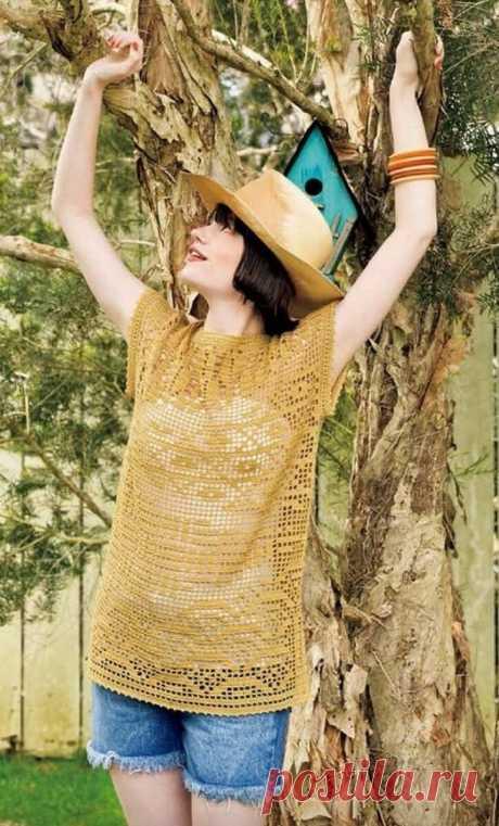 Почему вязаная одежда должна спасти человечество. Подборка эффектных топов крючком.   Asha. Вязание и дизайн.🌶   Яндекс Дзен