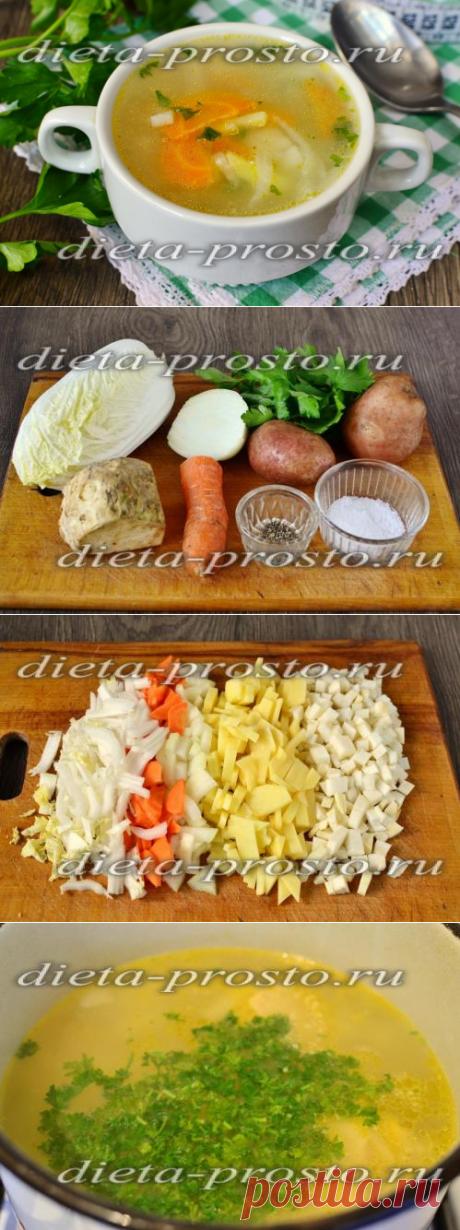 Диетический суп с сельдереем для похудения