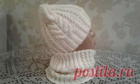 """Шапка спицами. КотоШапка. Часть 1. // Knitting for kids // How to knit a hat Схема https://www.stranamam.ru/album/11767628/#photo11767629 """" Денежный сундучок"""" для развития канала. Буду благодарна за любую финансовую поддержку канала. W..."""