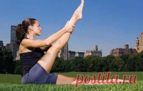 7 упражнений для красивых ног