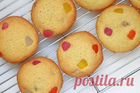 Пасхальное печенье с мармеладом, рецепт с фото