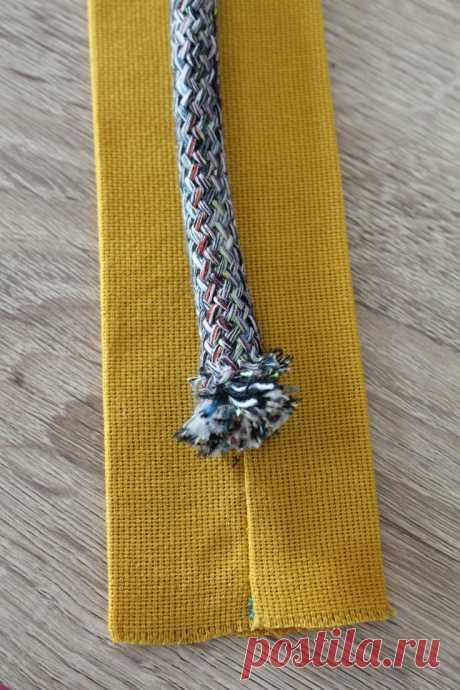 Как сделать шнуровой Ручки для сумок