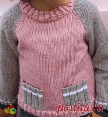Карманы на вязаном изделии. Вязание спицами. Идеи и схемы. | Марусино рукоделие | Яндекс Дзен