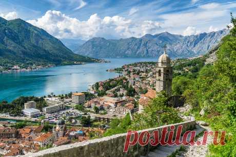 Котор: крепость Святого Иоанна.Черногория.