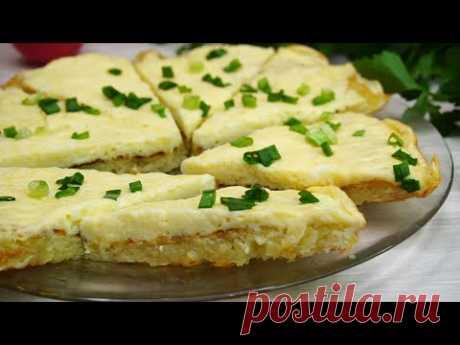 Завтрак за 10 минут! Очень вкусно! Ленивые лепешки  из картофеля