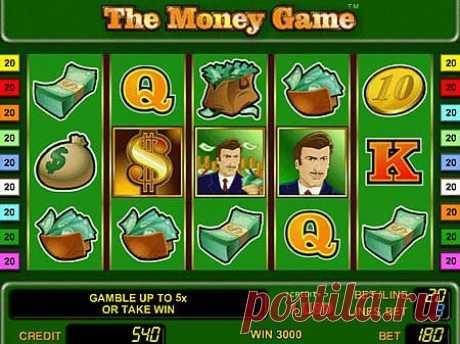 Игровой автомат Money Game играть онлайн. Всем кто любит играть в аппараты - слот Игра Денег наверняка понравится своим прибыльным бонусом, в виде бесплатных прокрутов барабанов.