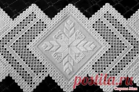 La servilleta de Pascua - Hardanger el bordado original - el País de las Mamás