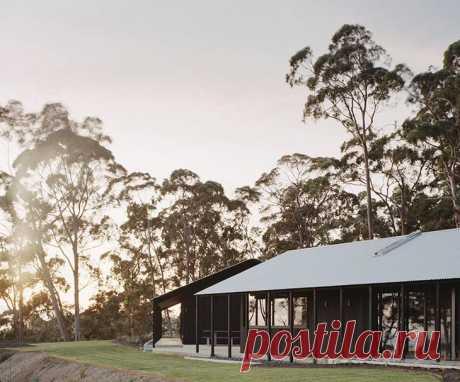 Убежище от суеты: дом в тёмном оформлении в Австралии Австралийский архитектор Роджер Нельсон и его жена Джейн планировали построить дом на природе для постоянного жилья, чтобы сбежать от суеты Мельбурна. Но к тому времени, когда восемь лет спустя они по...